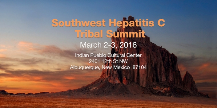 Tribal Hep C Summit Banner