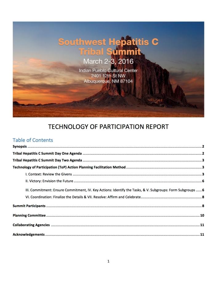 Hep C Report
